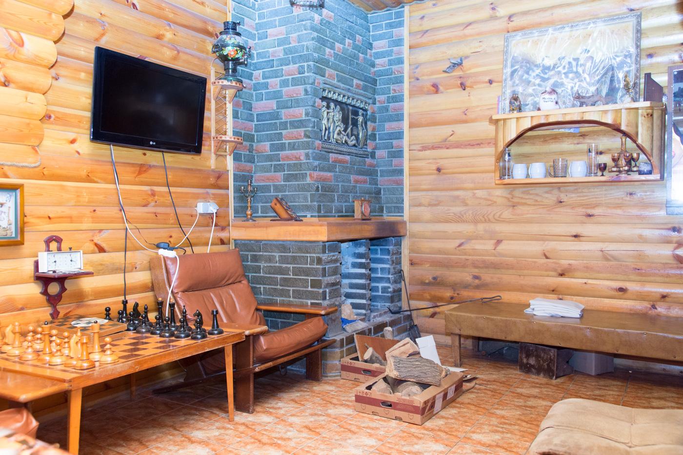 База отдыха Альтернатива, русская баня